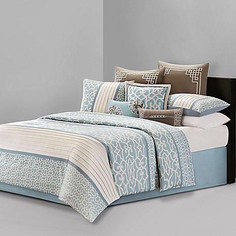 Buy n natori 174 fretwork european pillow sham in multi from bed bath