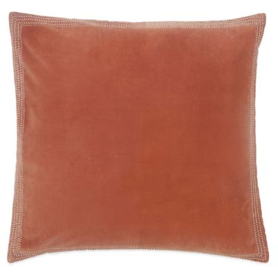 Terracotta European Pillow Sham in Terracotta