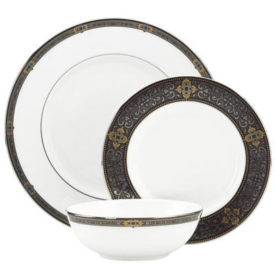 Lenox® Vintage Jewel 3-Piece Place Setting with All Purpose Bowl