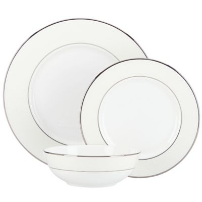 Lenox® Opal Innocence™ 3-Piece Place Setting with All Purpose Bowl