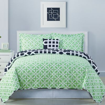 Marmara Reversible Full/Queen Quilt Set