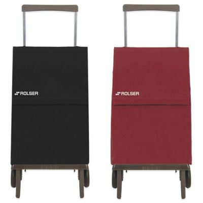 Rolser Plegamatic MF Shopping Cart in Maroon