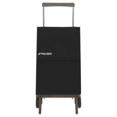 Rolser Plegamatic MF Shopping Cart in Black