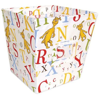 Trend Lab® Dr. Seuss™ ABC Medium Fabric Storage Bin