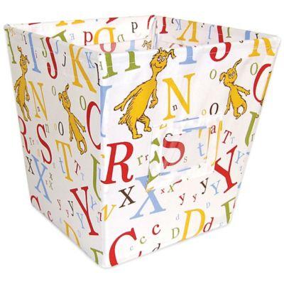 Trend Lab® Dr. Seuss™ ABC Medium Fabric Storage Bin
