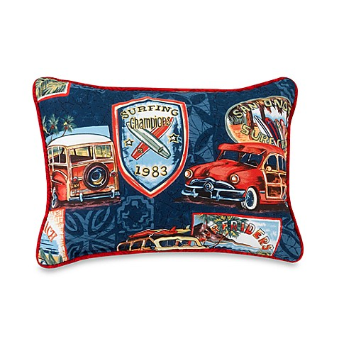 Surf Nation Breakfast Pillow