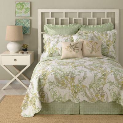 Laurel & Mayfair Nature Reversible Twin Quilt