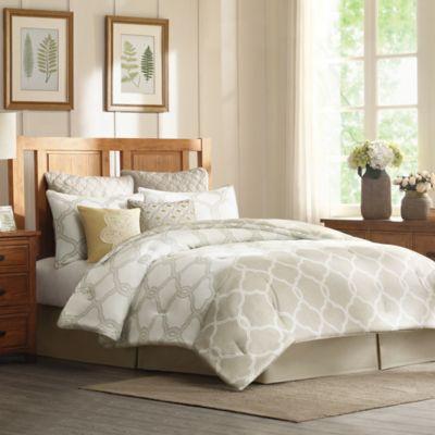 Harbor House™ Gentry Queen Comforter Set in Neutral