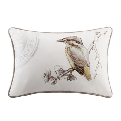 Harbor House™ Emma Oblong Throw Pillow in White