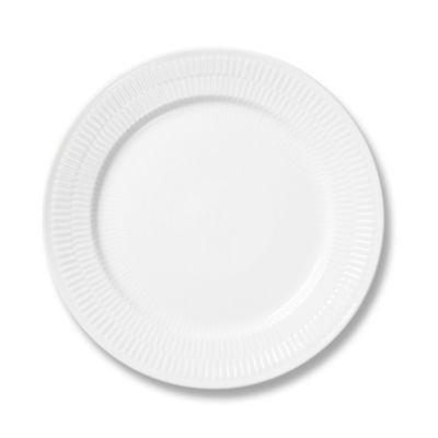 Royal Copenhagen Fluted Salad Plate in White