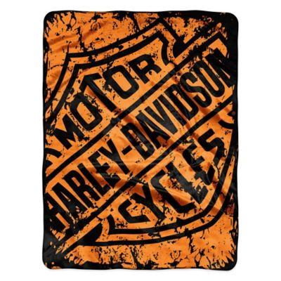 Harley Davidson® Refinery Sealed Micro Raschel Throw by Northwest Company