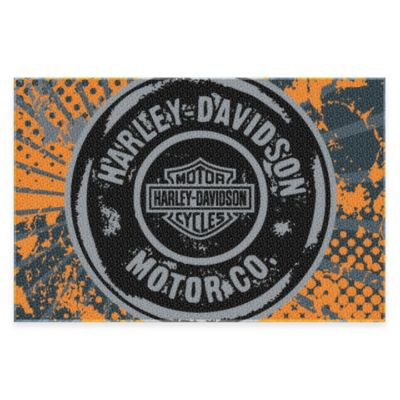 Harley Davidson® Free Road 4-Foot 11-Inch x 3-Foot 3-Inch Tufted Rug by Northwest Company