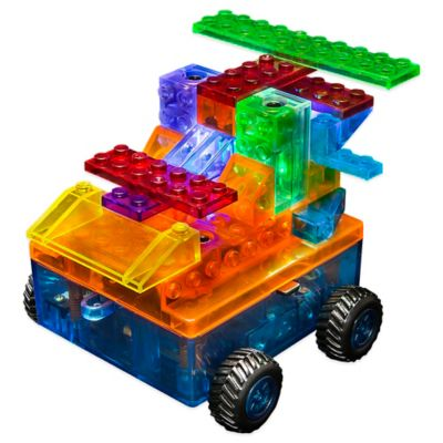 Laser Pegs® 8-in-1 Model Motorized Car Runner