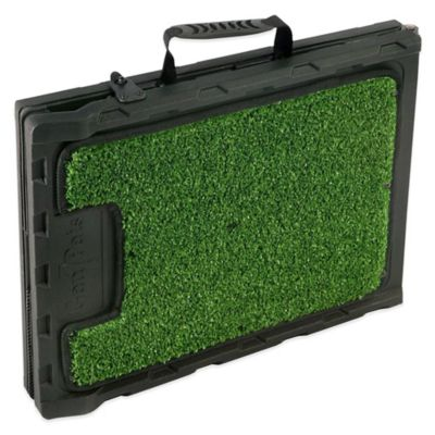 Folding Artificial Turf 42-Inch Dog Ramp