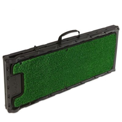 Folding Artificial Turf 72-Inch Dog Ramp