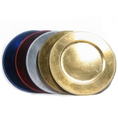 Gold Red Dinnerware Sets