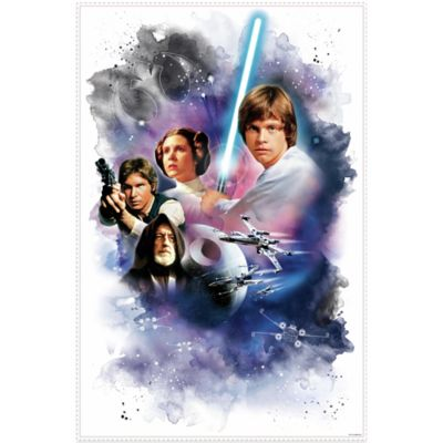 Star Wars™ Classic Mega Peel and Stick Giant Wall Decal