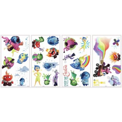 "York Wallcoverings Disney® Pixar ""Inside Out"" Peel and Stick Wall Decals (Set of 27)"