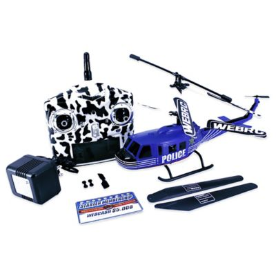 WebRC 12-Inch Police Bell UH-1 Huey Remote Control Helicopter
