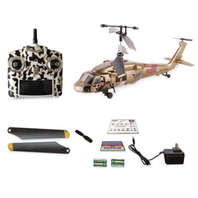 WebRC 12-Inch Black Hawk Helicopter
