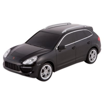 WebRC 1:24 Porsche® Cayenne Turbo Remote Control Toy Car in Black