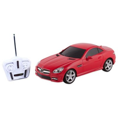 WebRC 1:24 Mercedes-Benz® SLK Remote Control Toy Car in Red