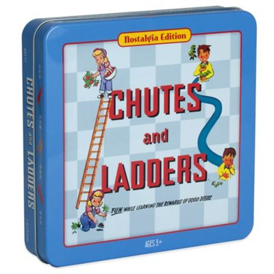 Nostalgia Edition Chutes & Ladders Board Game