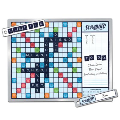 Scrabble Game and Message Board