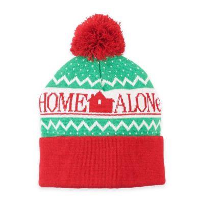 """""""Home Alone"""" Logo Pom Pom Beanie"""