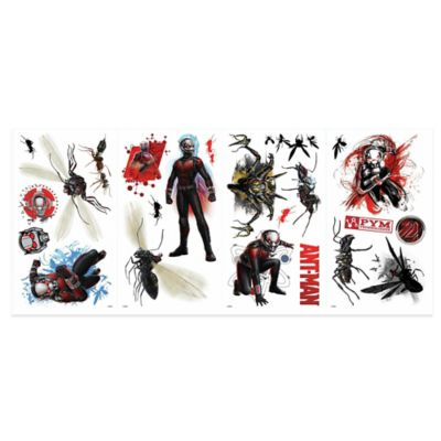 York Wallcoverings Ant-Man Peel and Stick Giant Wall Decals (Set of 23)