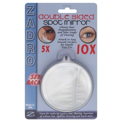 Zadro 5x/10x Magnification Spot Mirror