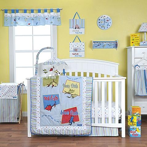 Trend Lab Dr Seuss One Fish Two Fish Crib Bedding
