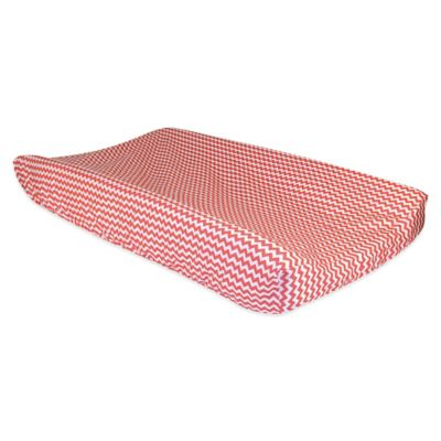 Trend Lab® Cocoa Coral Changing Pad Cover
