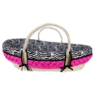 Trend Lab® Zahara 4-Piece Moses Basket Set
