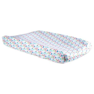 Trend Lab® Cupcake Bubble Print Changing Pad Cover