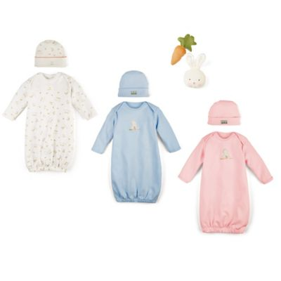 Bunnies by the Bay 4-Piece Delightful Baby Gift Set in Blue