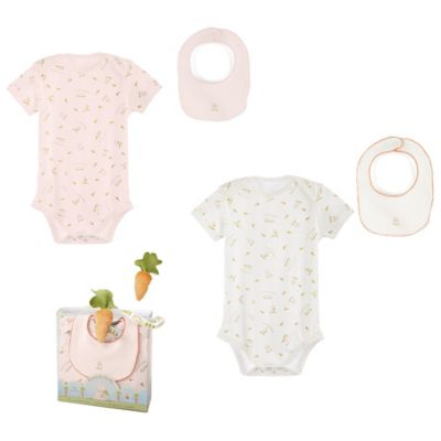 Bunnies by the Bay® 3-Piece Delightful Baby Sweet Bun Bunsie Gift Set in Pink