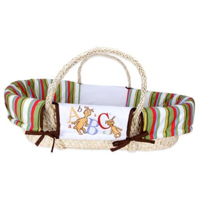 Trend Lab® Dr. Seuss™ ABC 4-Piece Moses Basket Set
