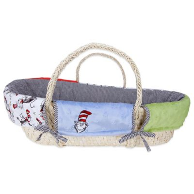 Trend Lab® Dr. Seuss™ Cat in the Hat 4-Piece Moses Basket Set