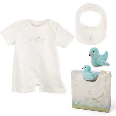 Bunnies by the Bay® 3-Piece Kiddo Romper Gift Set