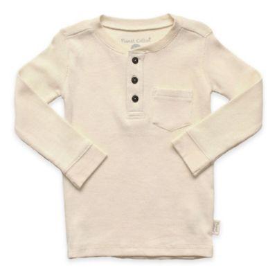Planet Cotton Henley T-Shirt