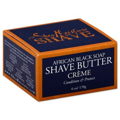 Shea Moisture 6 oz. African Black Soap Shave Butter Cream