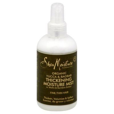 Shea Moisture 8 oz. Yucca & Baobab Thickening Moisture Mist for Fine Thin Hair