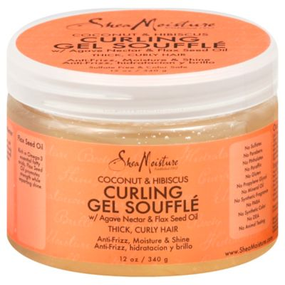 SheaMoisture 12 oz. Coconut & Hibiscus Curling Gel Souffle