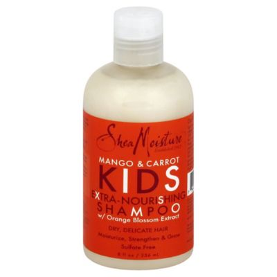 SheaMoisture 8 oz. Kids Extra Nourishing Shampoo in Mango & Carrot