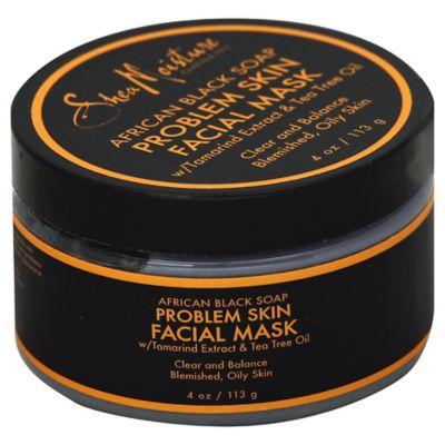 Shea Moisture 4 oz. African Black Soap Problem Skin Facial Mask