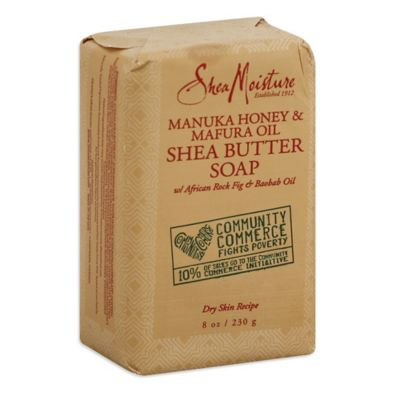Shea Moisture 8 oz. Community Commerce Manuka Honey & Mafura Oil Shea Butter Bar Soap