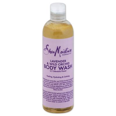 Shea Moisture 13 oz. Body Wash in Lavender and Wild Orchid