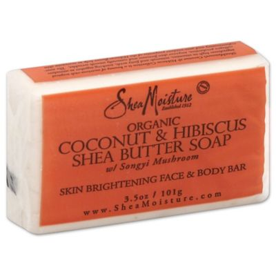 SheaMoisture 3.5 oz. Coconut and Hibiscus Shea Butter Soap