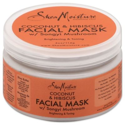 SheaMoisture 4 oz. Coconut & Hibiscus Facial Mask